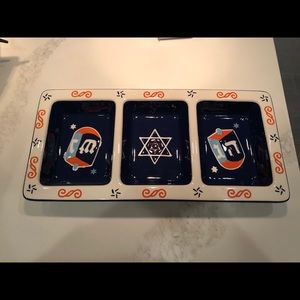 "Other - Like new channukah tray.   Measures 15"" x 7"""